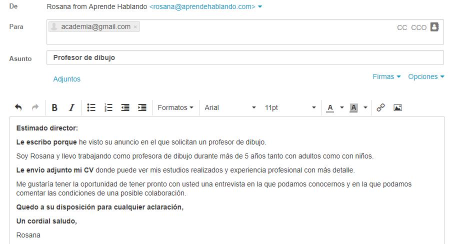 Cómo Escribir Un Email En Español Aprende Hablando